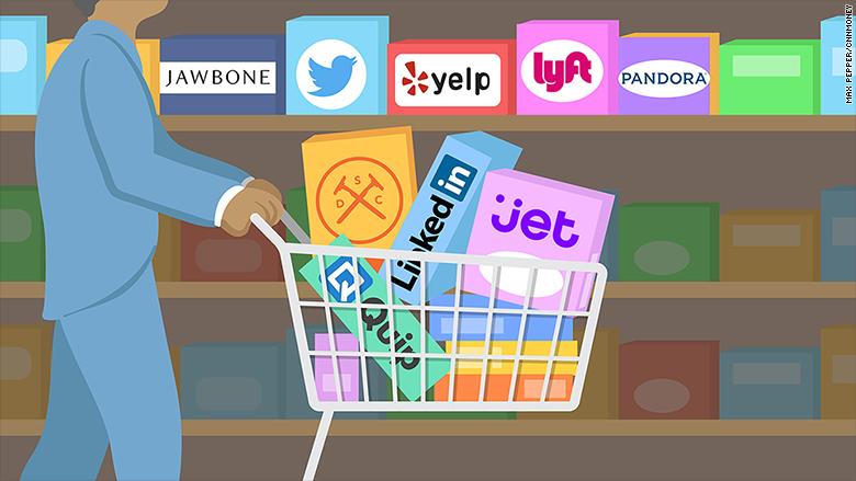 Tech acquisitions