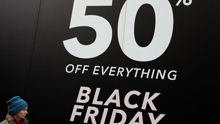 Black Friday retail bonanza